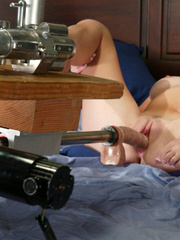 She gets the hottest orgasms ever with this - Unique Bondage - Pic 11