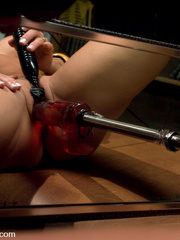 Huge cock girls fucking machines in action. - Unique Bondage - Pic 4