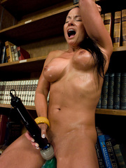 Huge cock girls fucking machines in action. - Unique Bondage - Pic 10