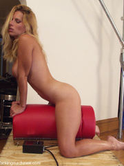 Hot girls cumming on fast fucking machines. - Unique Bondage - Pic 6