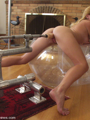 Hot girls cumming on fast fucking machines. - Unique Bondage - Pic 10