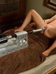 Girls fucking machines that will keep them - Unique Bondage - Pic 15
