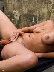 Tied up and fucked to exhaustion with - Unique Bondage - Pic 15