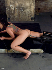 Double fucked by her boyfriend with women - Unique Bondage - Pic 10