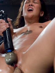 Double fucked by her boyfriend with women - Unique Bondage - Pic 12
