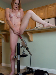 Huge black Dildo fucking Machine. Tags: sex - Unique Bondage - Pic 5