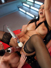 Girls fucking each other with mechanical - Unique Bondage - Pic 13