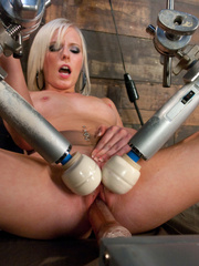 Huge orgasms for hot pussy with different - Unique Bondage - Pic 2