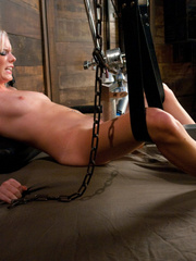 Huge orgasms for hot pussy with different - Unique Bondage - Pic 3
