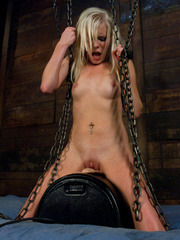 Huge orgasms for hot pussy with different - Unique Bondage - Pic 12