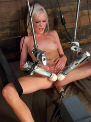 Huge orgasms for hot pussy with different - Unique Bondage - Pic 13