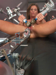 Hooked up to hardcore fucking machines for - Unique Bondage - Pic 9