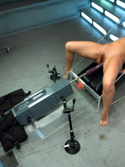Double penetration with latest mechanical - Unique Bondage - Pic 8