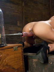 Every woman wants a huge dildo machine in - Unique Bondage - Pic 10