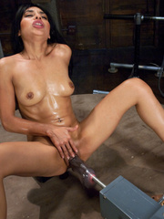 Every woman wants a huge dildo machine in - Unique Bondage - Pic 15