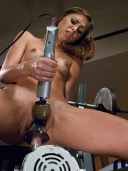 Young pussy trying on a vibrating sex - Unique Bondage - Pic 11