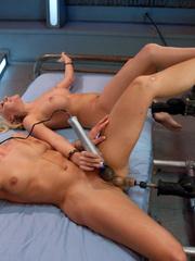 Huge orgasms obtained with dildo machine. - Unique Bondage - Pic 10