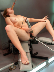 Horny women connected to the sex machine of - Unique Bondage - Pic 5