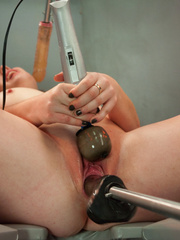 Horny women connected to the sex machine of - Unique Bondage - Pic 6