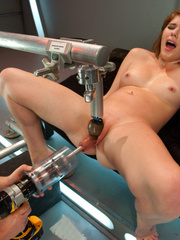 Horny women connected to the sex machine of - Unique Bondage - Pic 11