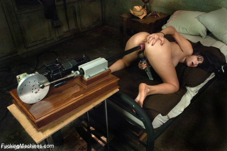 She receives a big dildo machine for her - Unique Bondage - Pic 9