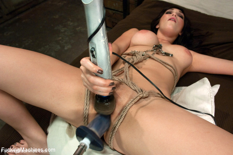 She receives a big dildo machine for her - Unique Bondage - Pic 13
