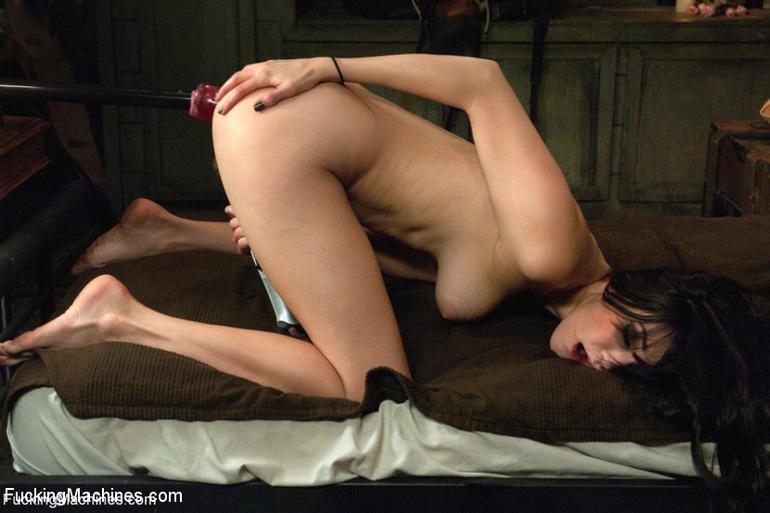 She receives a big dildo machine for her - Unique Bondage - Pic 14