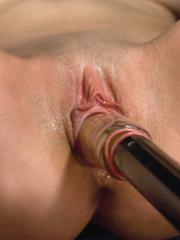 She pees while the sex machine continues - Unique Bondage - Pic 7