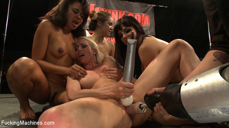 Orgy with fucking machines. Tags: women - Unique Bondage - Pic 14