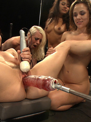 Orgy with fucking machines. Tags: women - Unique Bondage - Pic 15