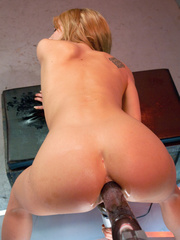 Hot pussy loves to fuck with dildo fucking - Unique Bondage - Pic 15