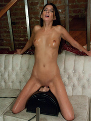 She reaches her best orgasm ever using a - Unique Bondage - Pic 13