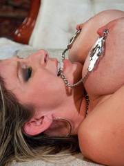 She got a love machine for her birthday. - Unique Bondage - Pic 15