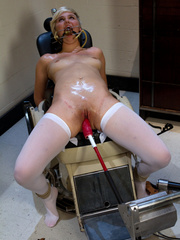 She is addicted to her sex machine. Tags: - Unique Bondage - Pic 8