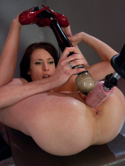Hot girl has a very hot orgasm with a love - Unique Bondage - Pic 12