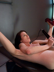 Hot girl has a very hot orgasm with a love - Unique Bondage - Pic 13