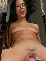 Young babe using fucking machines for the - Unique Bondage - Pic 5