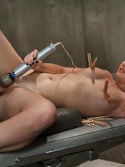 She likes mechanical fucking  machines in - Unique Bondage - Pic 6