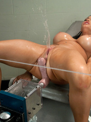 Huge Dildo fucking machines make her pussy - Unique Bondage - Pic 6