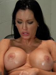 Huge Dildo fucking machines make her pussy - Unique Bondage - Pic 8