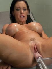 Huge Dildo fucking machines make her pussy - Unique Bondage - Pic 13
