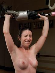 Lesbians using hammer fucking machines. - Unique Bondage - Pic 10