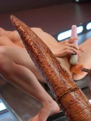 Free pics with hot babes using fucking - Unique Bondage - Pic 3