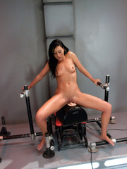 Large pussy being fucked hardcore with a sex - Unique Bondage - Pic 9