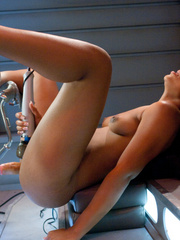 Ebony ass pierced for the first time by - Unique Bondage - Pic 6