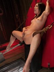 Spreading her legs for hardcore fucking - Unique Bondage - Pic 7