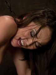 Spreading her legs for hardcore fucking - Unique Bondage - Pic 11