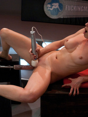Hot babes licking and fucking their pussies - Unique Bondage - Pic 3