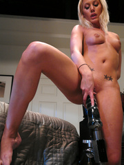 Her pussy eats several women fucking - Unique Bondage - Pic 9