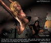Submission comics. Blonde slave exhausted of being tortured!